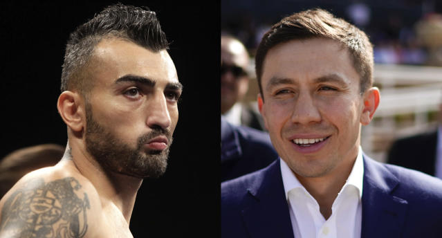 Vanes Martirosyan vs. Gennady Golovkin has been announced for May 5 at the StubHub Center in Carson, California. (Getty/AP)
