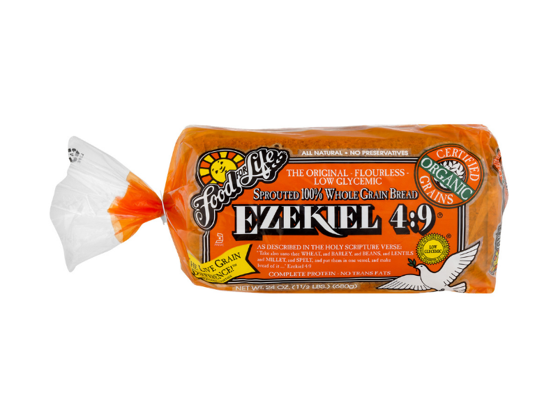 Food for Life Ezekiel 4:9 Bread, 24-ounce. (Photo: Walmart)