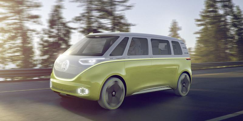 volkswagen might actually build an electric microbus. Black Bedroom Furniture Sets. Home Design Ideas