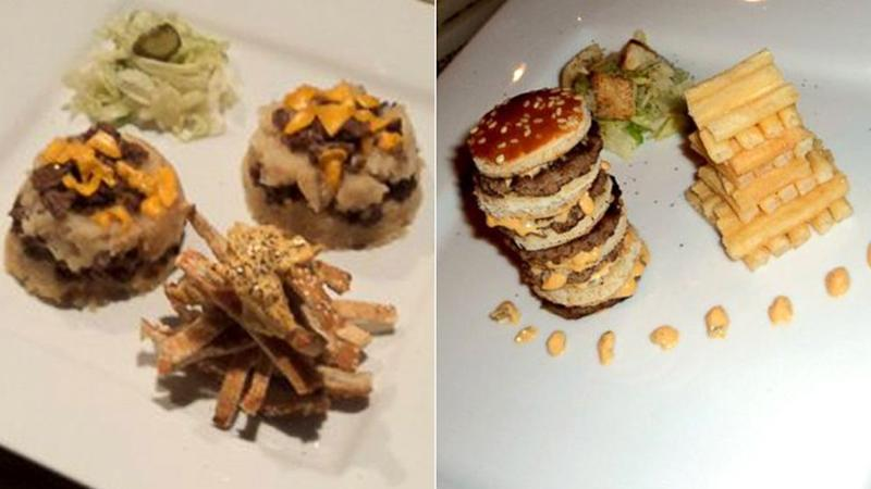 Friends Compete for Fanciest Fast Food Meal
