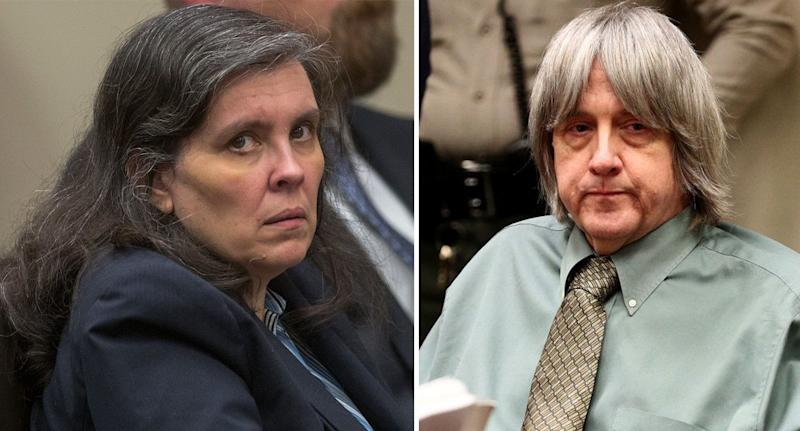 Louise and David Turpin pleaded guilty to 14 criminal charges. Source: Getty