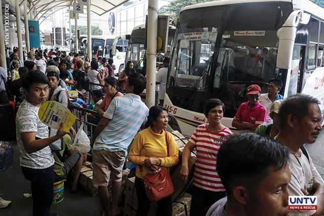 Number coding lifted from Dec. 24 to Jan. 2 for provincial buses – MMDA