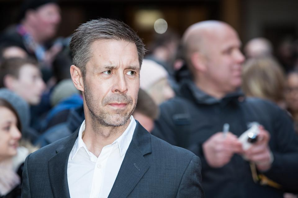 Paddy Considine poses for photographers upon arrival at the Empire Film Awards in London, Sunday, March 20, 2016. (Photo by Vianney Le Caer/Invision/AP)
