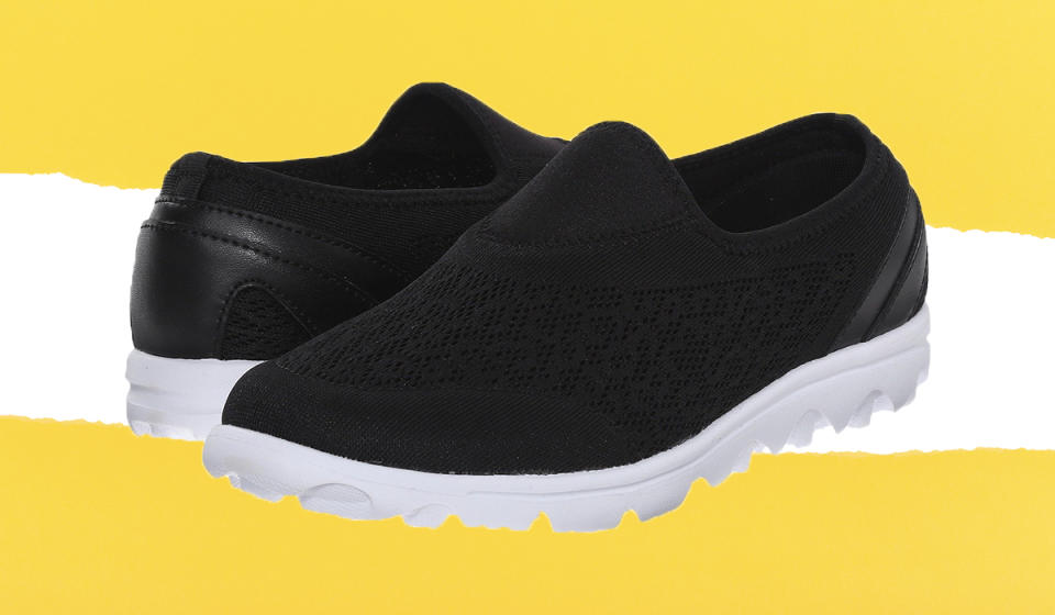 Basic black for the stay-at-home situations. (Photo: Zappos)