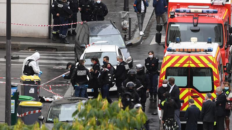Paris knife attack suspect wanted to set Charlie Hebdo offices on fire