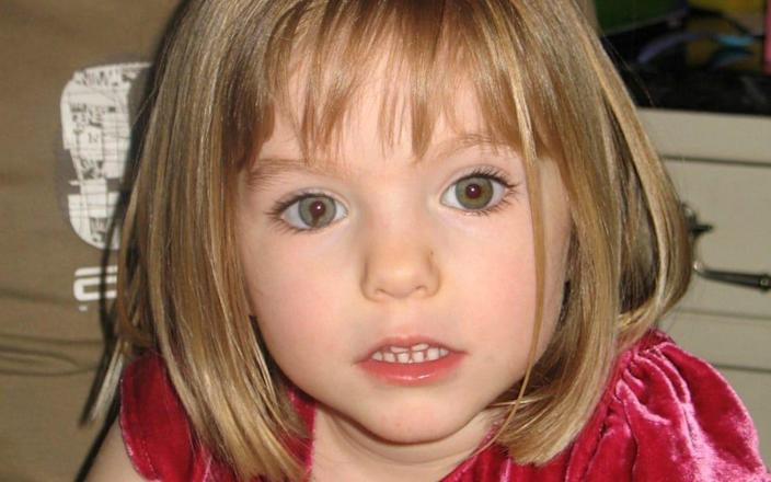 """(FILES) This file undated handout photograph released by the Metropolitan Police in London on June 3, 2020, shows Madeleine McCann who disappeared in Praia da Luz, Portugal on May 3, 2007. - Belgium reopened the investigation on June 11, 2020 into the 1996 murder of a German teenager because of a possible link with the man suspected of murdering British girl Madeleine McCann. Carola Titze, 16, was found dead with her body mutilated in July 1996 in a resort town on the Belgian coast. The public prosecutor's office in Bruges """"is indeed reopening the file relating to this murder,"""" a spokesman told AFP, without further details. (Photo by Handout / METROPOLITAN POLICE / AFP) / RESTRICTED TO EDITORIAL USE - MANDATORY CREDIT """"AFP PHOTO / METROPOLITAN POLICE """" - NO MARKETING NO ADVERTISING CAMPAIGNS - DISTRIBUTED AS A SERVICE TO CLIENTS (Photo by HANDOUT/METROPOLITAN POLICE/AFP via Getty Images) - HANDOUT/AFP"""