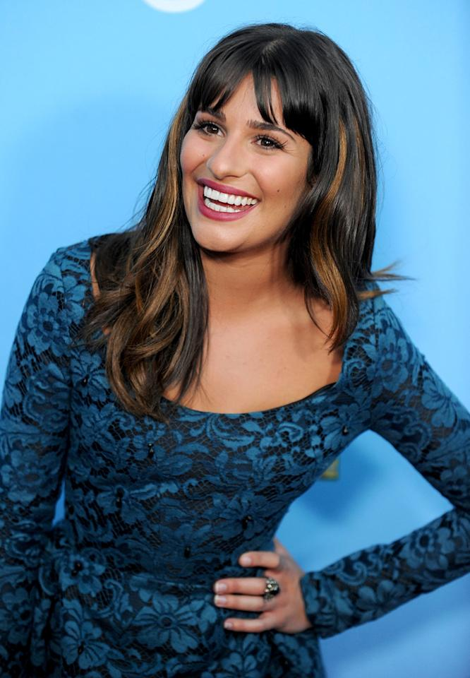 "<i>In Touch</i> says ""Glee"" star Lea Michele has ""been offered more than $500,000 to show off her new body in <i>Playboy.</i>"" According to the celebrity weekly, Michele, who went topless in the Broadway show ""Spring Awakening,"" might pose if she ""thought it would boost her career."" Find out her plans by reading what a confidante told <a href=""http://www.gossipcop.com/glee-lea-michele-playboy-pictorial-nudity-nude-naked-topless/"" target=""new"">Gossip Cop</a>. Kevin Winter/<a href=""http://www.gettyimages.com/"" target=""new"">GettyImages.com</a> - September 7, 2010"