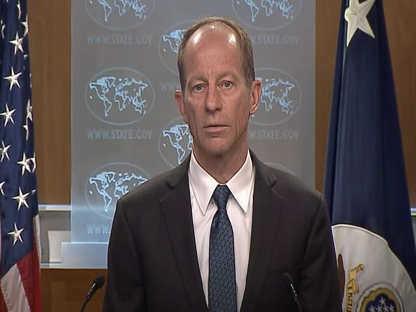 Assistant Secretary for East Asian and Pacific Affairs David Stilwell answering the questions of the press, at the Department of State, on September 2, 2020. (Credit: US State Department)