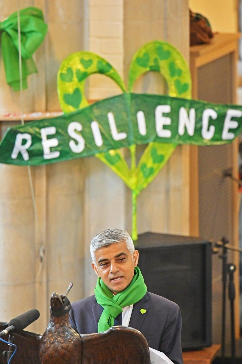 Mayor of London Sadiq Khan has criticised firms involved in the Grenfell Tower refurbishment (PA) (PA Archive)