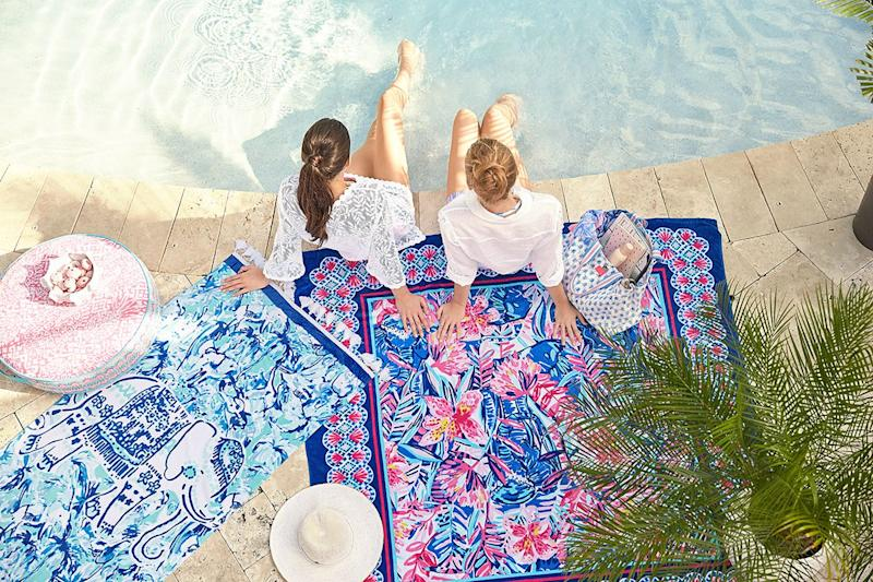 31baca553ab5e0 Exclusive: Behind-the-Scenes at Pottery Barn's New Collab With Lilly  Pulitzer