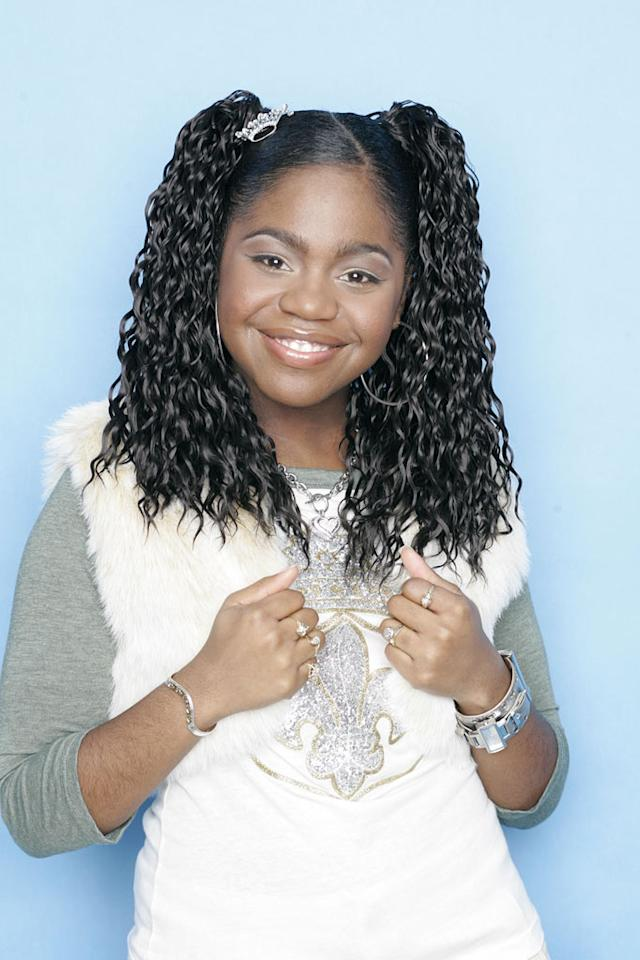 "Paris Bennett from Fayettesville, GA, is one of the contestants on Season 5 of ""American Idol."""