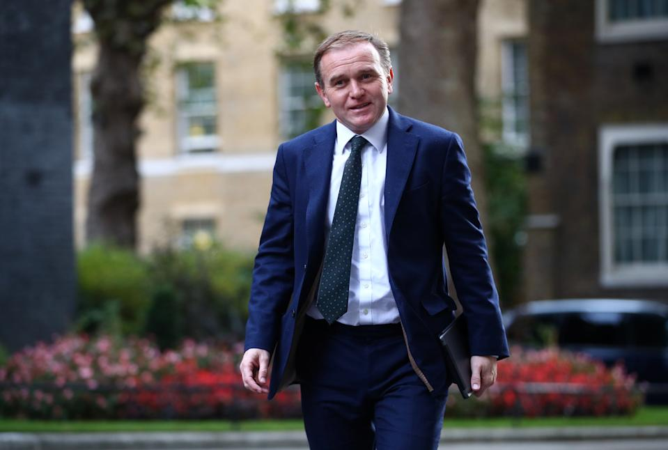 If good progress is made this week the talks could continue into the new year, environment secretary George Eustice said on Monday. Photo: Hannah McKay/Reuters