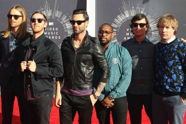 PHOTO: Maroon 5 attending the 2014 MTV Video Music Awards held at The Forum in Inglewood, Calif. Aug. 24th, 2014. (RTNUPA/MediaPunch /IPX via AP, FILE)