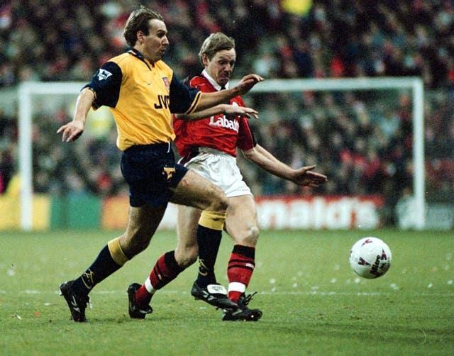 Paul Merson represented a number of clubs, including Arsenal during his career