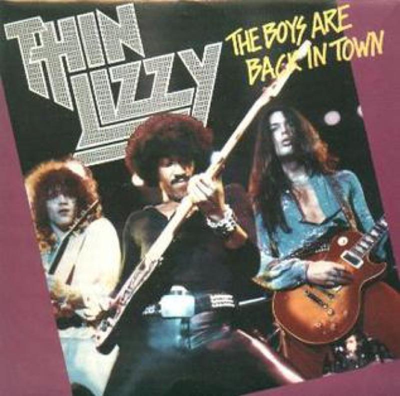 Boys Are Back in Town, Thin Lizzy one hit wonder of 70s