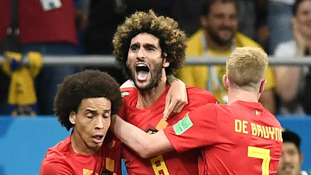 The pair both came off the bench to score against Japan in the last 16 and come in for Dries Mertens and Yannick Carrasco
