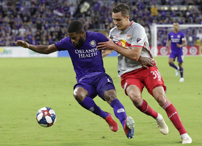 White, Robles help Red Bulls hold off Orlando City, 1-0