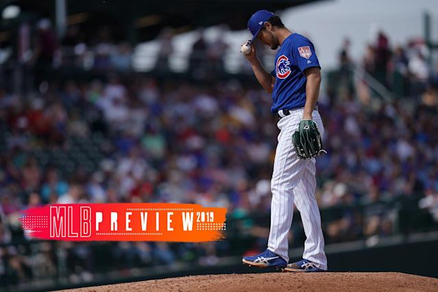 The Chicago Cubs didn't do much to improve this offseason. (Getty Images)
