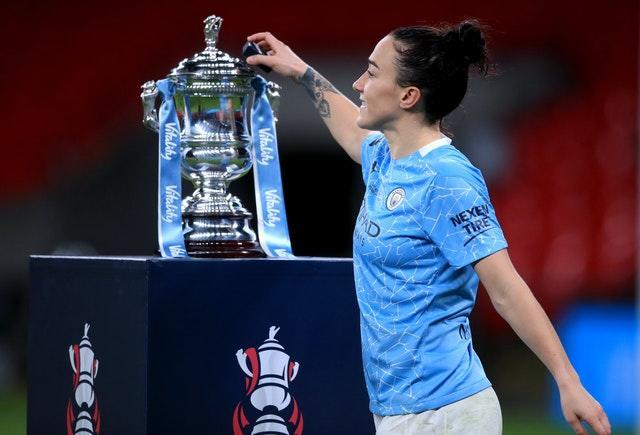 Bronze won the Women's FA Cup with Manchester City last month, having helped Lyon claim a treble earlier in the year (Adam Davy/PA).