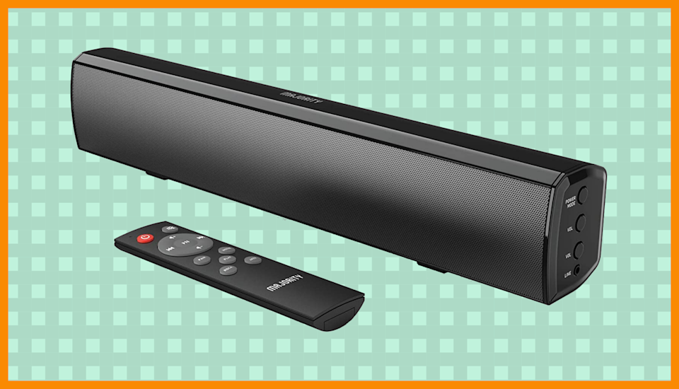 Weird but true: This soundbar is only $37! (Photo: Amazon)