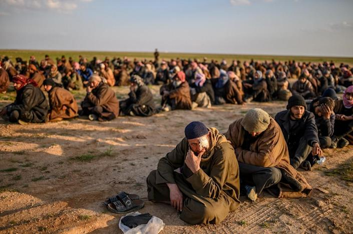The Syrian Democratic Forces have called on governments to take back their citizens who fought for the Islamic State group, but Western nations have been reluctant (AFP Photo/Bulent KILIC)