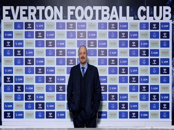 Everton appoint Rafael Benitez as its new manager (Photo/ Everton Twitter)