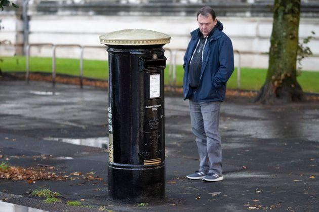Four post boxes have been painted black to honour black Britons as part of Black History Month in October.