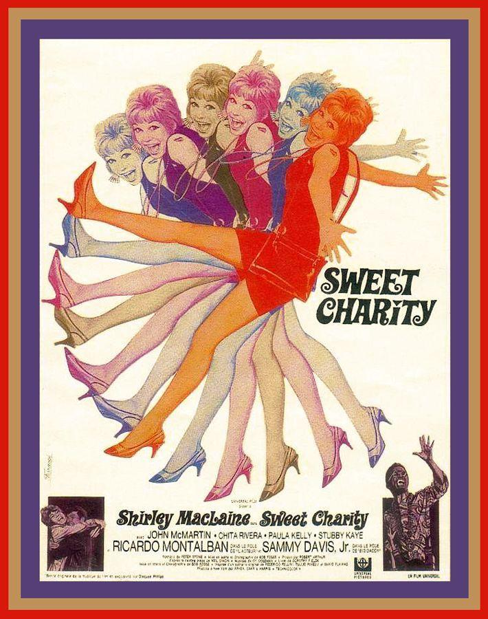 """<p>Legendary Bob Fosse brings his beloved Broadway show to the screen, starring Shirley MacLaine as a dancer named Charity looking for love. MacLaine is as lovable and charming as ever singing and dancing alongside Chita Rivera, Sammy Davis Jr., and Ricardo Montalban. </p><p><a class=""""link rapid-noclick-resp"""" href=""""https://www.amazon.com/Sweet-Charity-Shirley-MacLaine/dp/B00007J5VN/ref=sr_1_1?tag=syn-yahoo-20&ascsubtag=%5Bartid%7C10072.g.27734413%5Bsrc%7Cyahoo-us"""" rel=""""nofollow noopener"""" target=""""_blank"""" data-ylk=""""slk:WATCH NOW"""">WATCH NOW</a></p>"""