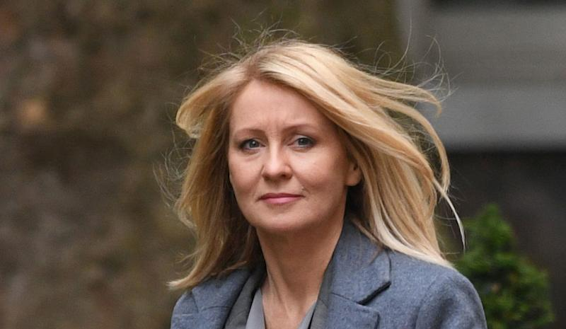 """File photo dated 12/6/2018 of Conservative Esther McVey, who has said Theresa May should make a """"dignified departure"""", after suggestions the Prime Minister will only get her Brexit deal voted through Parliament if she agrees to stand down."""