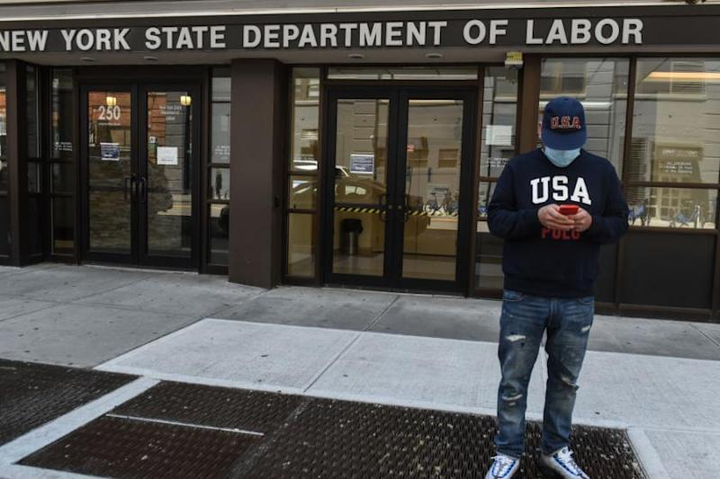 Number of laid-off workers seeking unemployment aid stuck at 1.3 million