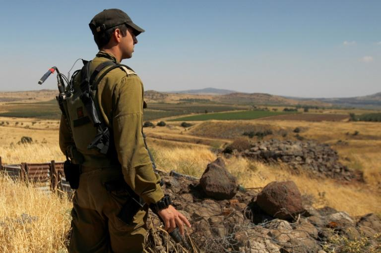 Israeli plane hits Syrian army in Golan exchange