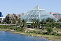 <p><strong>What do you notice when you arrive?</strong><br> It's hard to miss the aquarium, the key attraction at Moody Gardens—it is, after all, a huge glass pyramid.</p> <p><strong>What's the most exciting thing we'll find inside?</strong><br> Otters and penguin encounters that might just include a chance to get in on some the animal training.</p> <p><strong>Do we need to plan ahead?</strong><br> Groups for the animal encounters are small and you can reserve tickets ahead of time, so you'll probably want to.</p> <p><strong>Good for kids?</strong><br> Of course. Kids make this place.</p> <p><strong>Who do you think this place is best for?</strong><br> Kids who need a break from the sun and sand.</p>