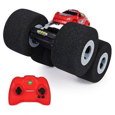 """<p><strong>Air Hogs</strong></p><p>target.com</p><p><strong>$20.49</strong></p><p><a href=""""https://www.target.com/p/air-hogs-super-soft-stunt-shot-indoor-remote-control-stunt-vehicle/-/A-79391227"""" rel=""""nofollow noopener"""" target=""""_blank"""" data-ylk=""""slk:Shop Now"""" class=""""link rapid-noclick-resp"""">Shop Now</a></p><p>This RC is <strong>designed to be driven indoors.</strong> The big wheels let it easily conquer obstacles like carpets and other toys, but they're also super soft so they don't damage walls or furniture. <em>Ages 5+</em></p>"""