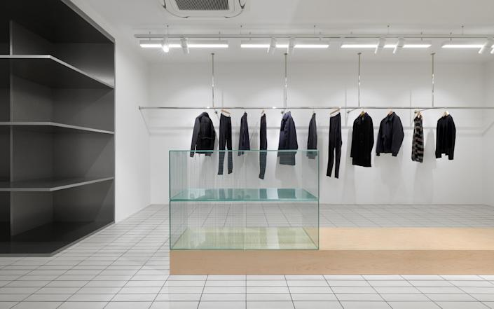 The boutique Tres Bien, which stocks both high fashion and sportswear, from New Balance to Dries Van Noten