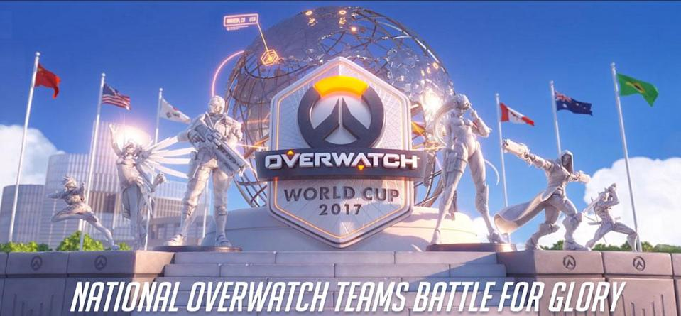 The Overwatch World Cup 2017 finals will take place at BlizzCon 2017. (Blizzard)
