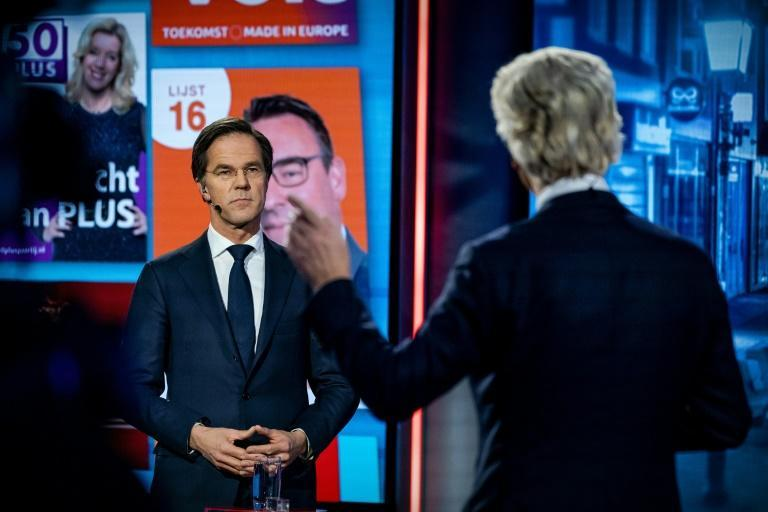Polls show Rutte's VVD party with around 25 percent of the vote, which would give them slightly more than their current 32 of the 150 seats in parliament