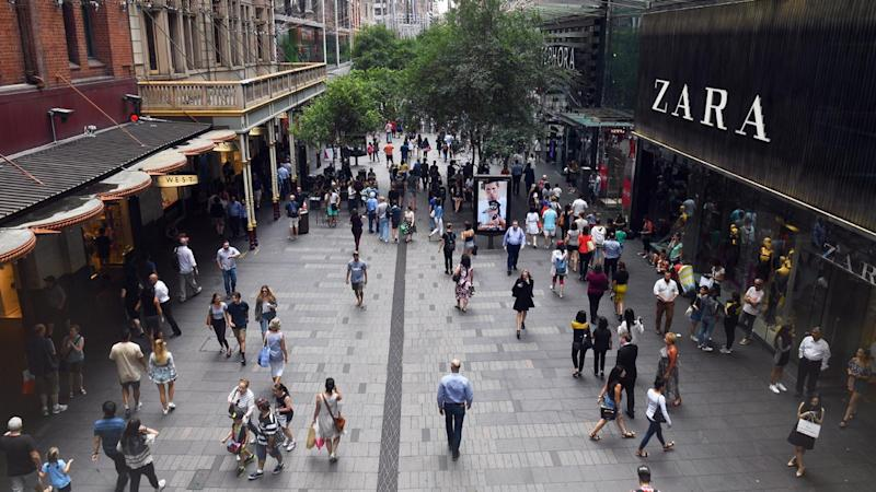Australian retail spending rose 0.2 per cent in November, led by food sales.