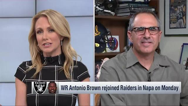 NFL Network's Mike Silver explains Oakland Raiders general manager Mike Mayock's change in tone regarding wide receiver Antonio Brown's situation.