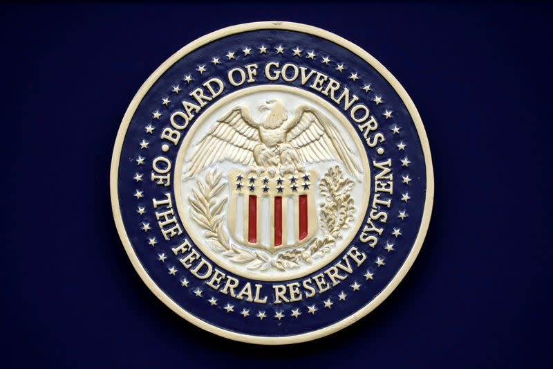 FILE PHOTO: The U.S. Federal Reserve Seal
