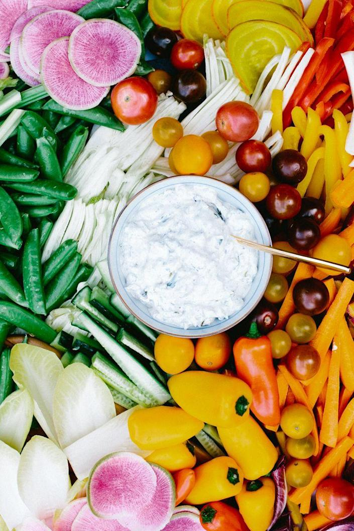"""<p>Spruce up your dip game with this scallion one.</p><p><a href=""""https://www.womansday.com/food-recipes/a27079504/charred-scallion-dip-recipe/"""" rel=""""nofollow noopener"""" target=""""_blank"""" data-ylk=""""slk:Get the recipe for Charred Scallion Dip."""" class=""""link rapid-noclick-resp""""><em><u>Get the recipe for Charred Scallion Dip.</u></em></a> </p>"""
