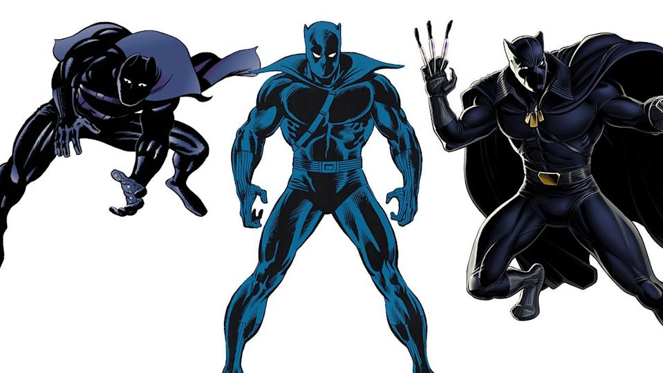Jack Kirby's first published costume for Black Panther remains the template for his look today.