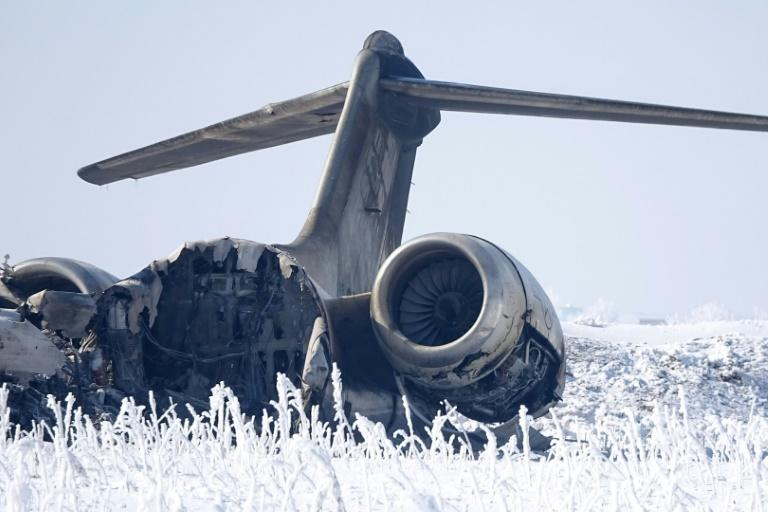 The E-11A jet is used for battlefield communications (AFP Photo/STR)