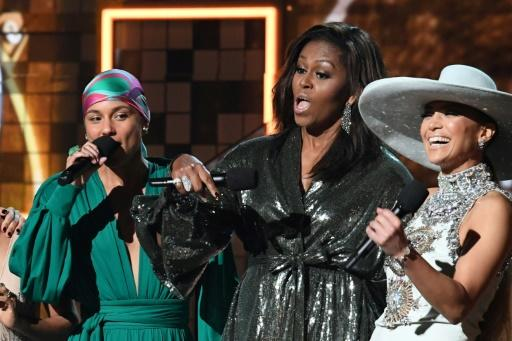 Michelle Obama: Der Star der Grammy-Verleihung