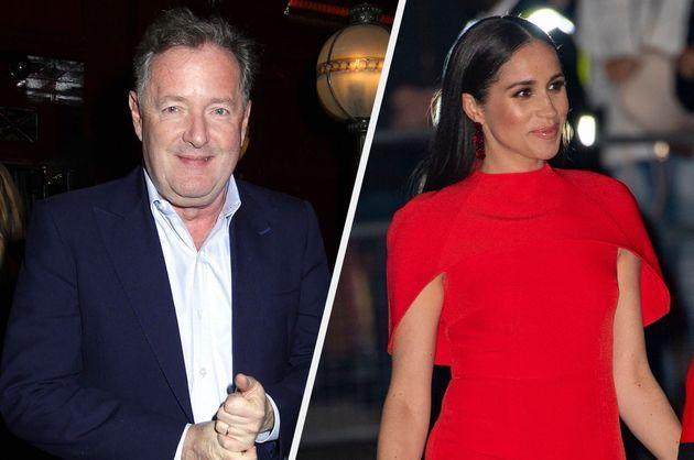 Piers Morgan and Meghan Markle (Photo: Shutterstock)