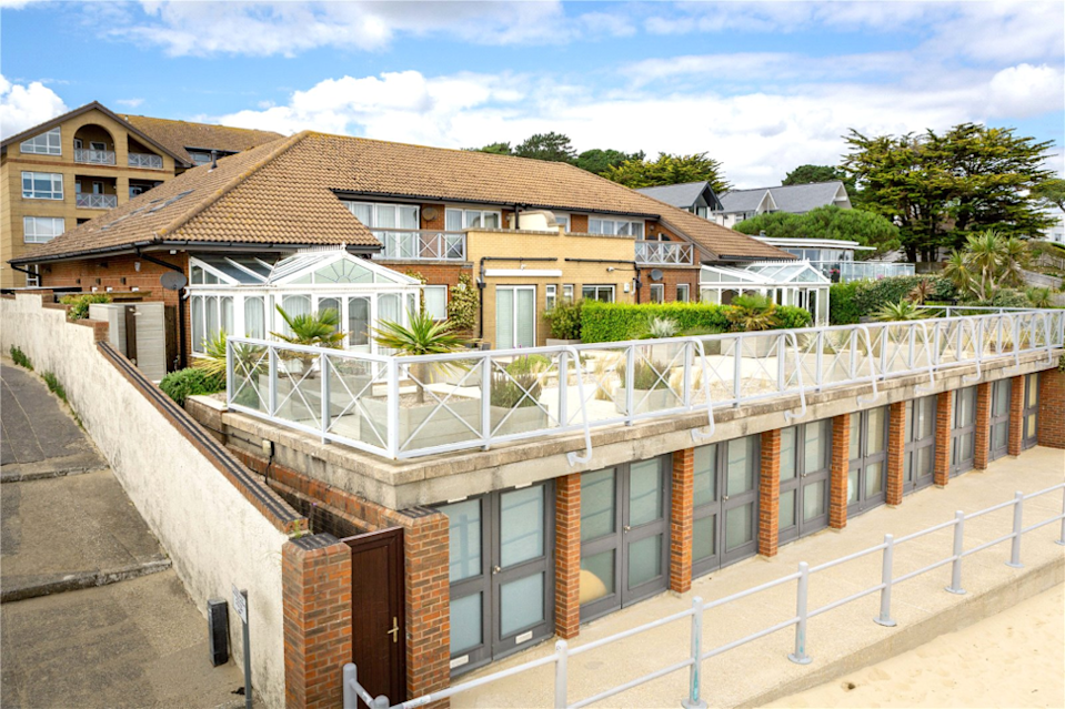 This flat at 137-139 Carina Court on Banks Road, Sandbanks costs £5.1m less than number 117. Photo: Tailor Made Estate Agents