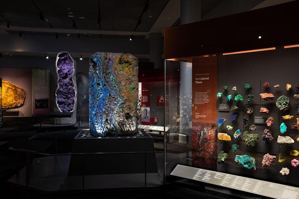Halls of Gems and Minerals