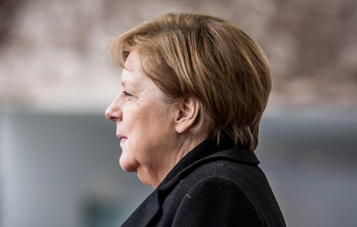 German chancellor Angela Merkel. Germany started testing earlier than other European countries and was able to both contain and cut down on fatalities caused by the coronavirus pandemic. Photo: Michael Kappeler/DPA//Picture Alliance via Getty