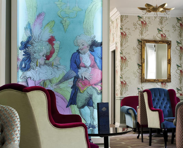 A corner of the bar area at Francis Hotel Bath [Photo: Supplied]