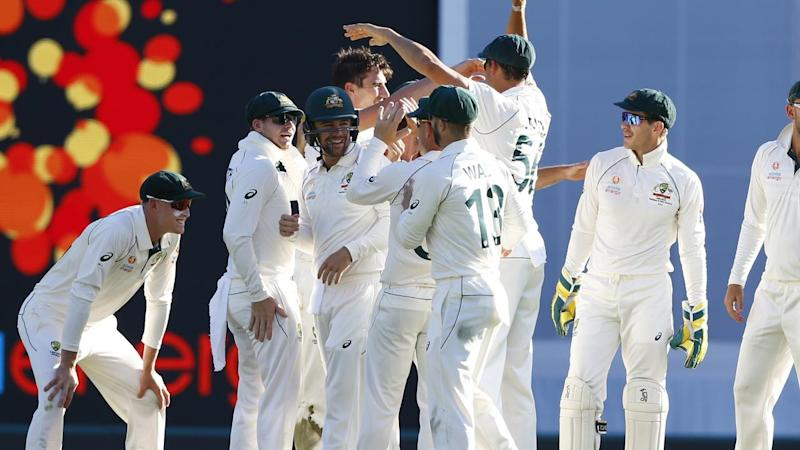 Australia are moving closer to victory in the first Test against Pakistan in Brisbane