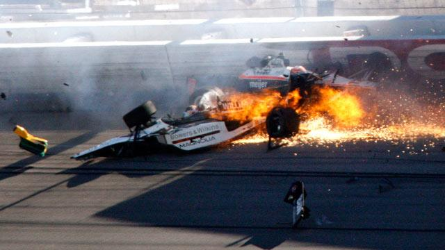 Dan Wheldon Tragedy: Racetrack Officials Fire Back (ABC News)